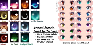 Vocaloid Boxart-Based Eye Textures