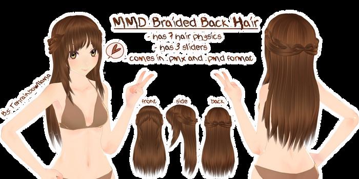 MMD Braided Back Hair