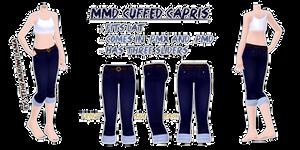 MMD Cuffed Capris