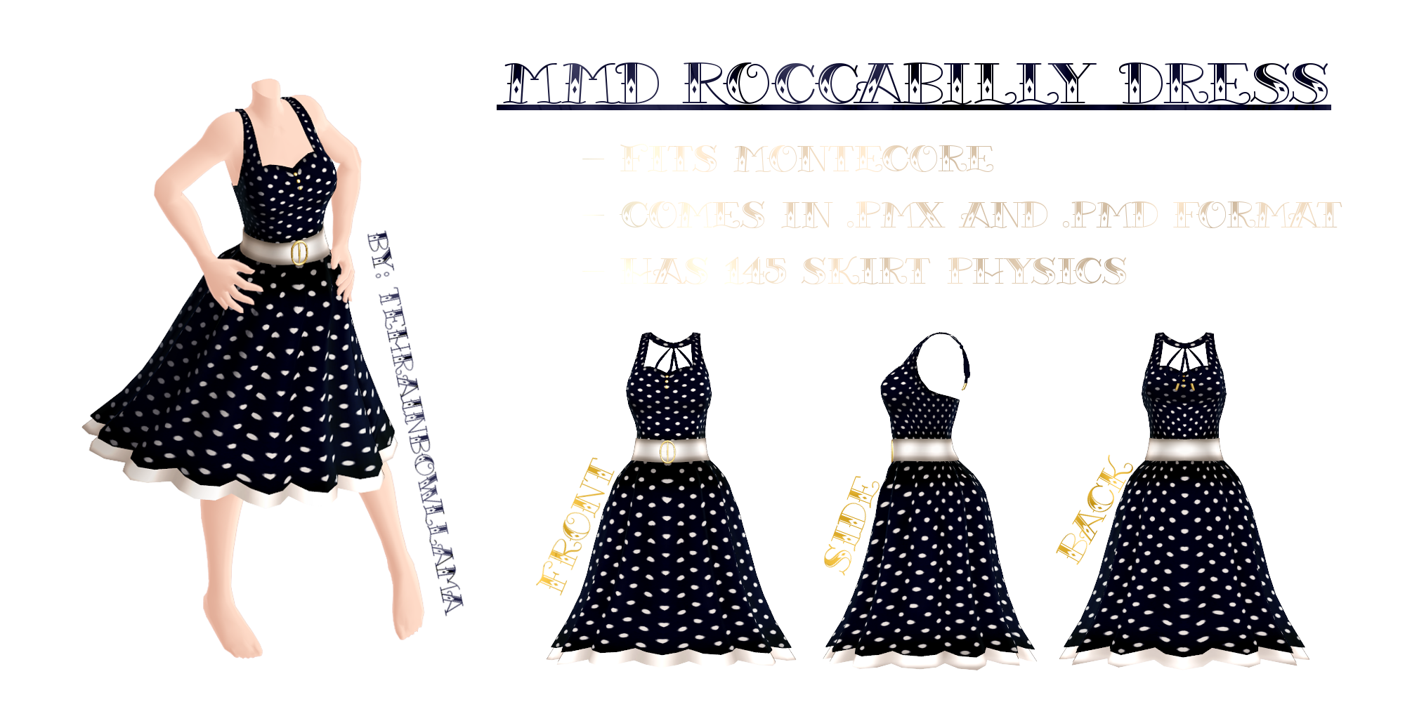 Mmd 2015 New Year Dress By Tehrainbowllama Deviantart Dibujos Para
