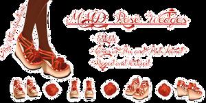 MMD Rose Wedges
