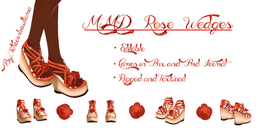 MMD Rose Wedges
