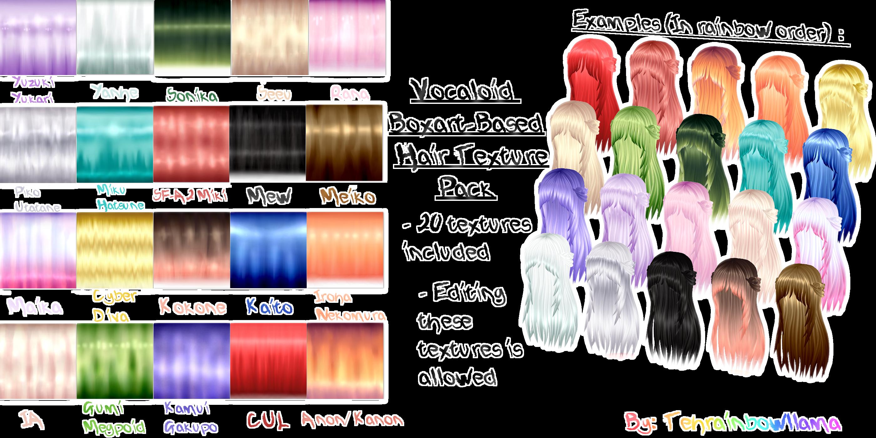 Hair Textures On Mmd Creators Deviantart