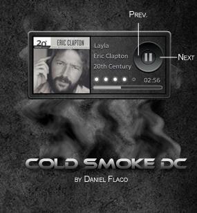 Cold Smoke CD by DanielFlaco