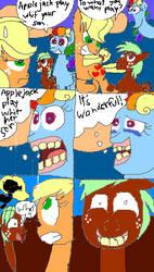 Mlp: comic part 1 by kicmarlene