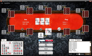 Deadwood Poker TH game style