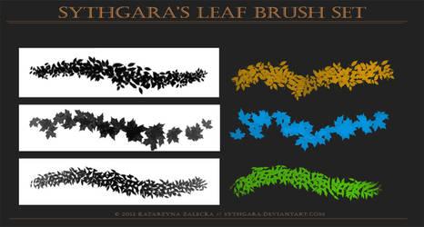 Leaves Brush Set