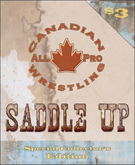 Canadian All Pro Wrestling Program by LinsWard