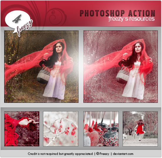 Photoshop action 04 by freezy-resources