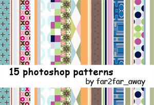 photoshop patterns 02 by far2far