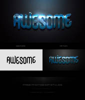 Free Awesome Text Effects by Alifuwork