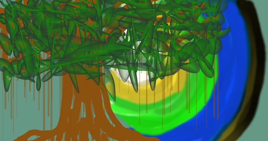 The Great Tree by razielanoyafunanya