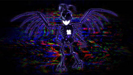 Nightmare Shadow Toy Chica
