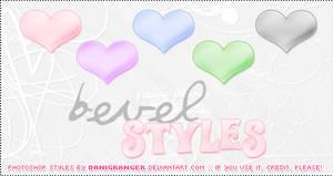 Bevel styles