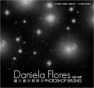 Stars and lights brushes by danigranger