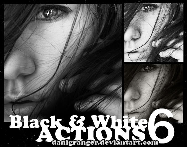 Black and White Actions