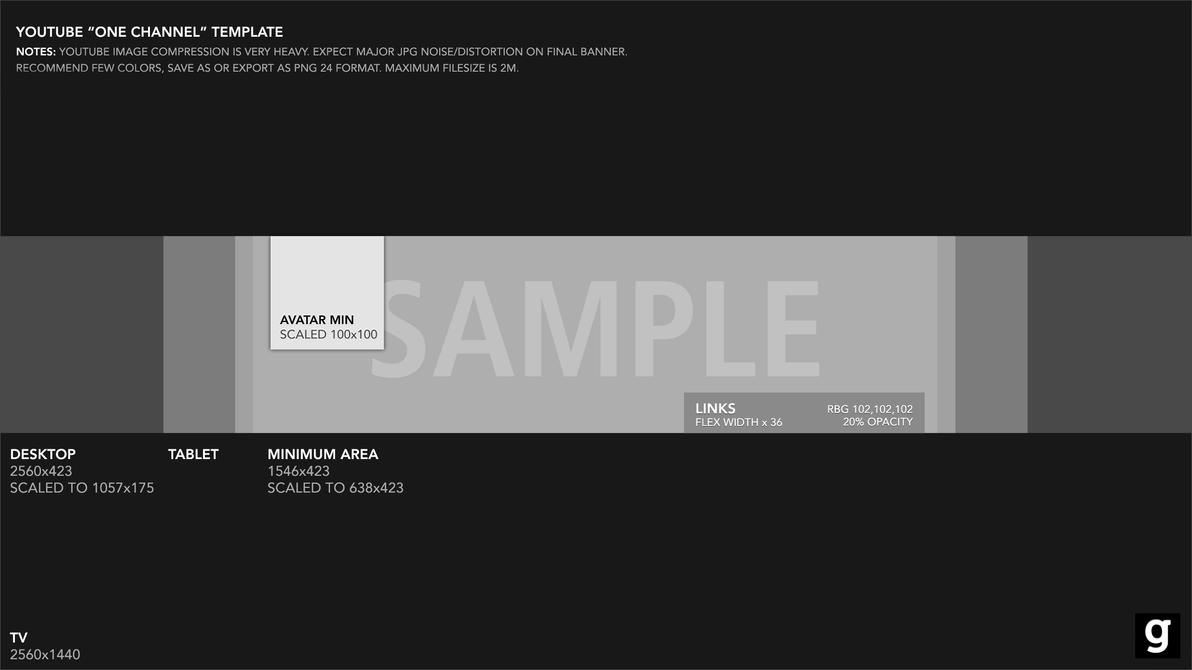 Youtube-banner-template 2015 by garcinga10 on DeviantArt