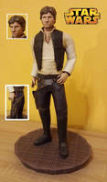 Star Wars - Han Solo Papercraft