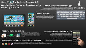 iPearOS 6 Theme/Application pack for Android