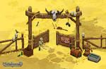 Shredtown gates