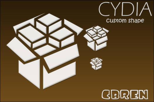 Cydia Icon - Custom Shape