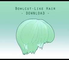 Bowl-ish Cut [ DOWNLOAD ] by PeachMilk3D
