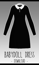 Baby Doll Dress [ DOWNLOAD  ] by PeachMilk3D