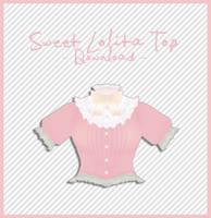 Lolita Top [ DOWNLOAD ] by PeachMilk3D