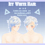 Icy White Hair [ Commission + DL ]