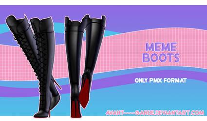 Meme Boots [ DL ] by PeachMilk3D