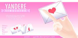Yandere-Chan's Love Letter