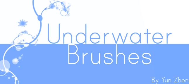Underwater Brushes by Yun-Zhen