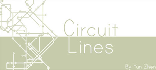Circuit Lines by Yun-Zhen