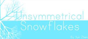 UNSYMMETRICAL Snowflakes