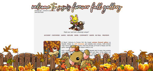 Forever Fall 2021 by sosuftw
