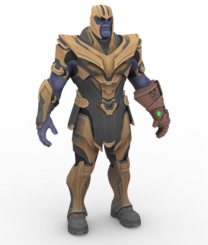 Thanos Fortnite By Papkapapka On Deviantart