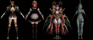 Lineage 2: Revolution Characters Pack