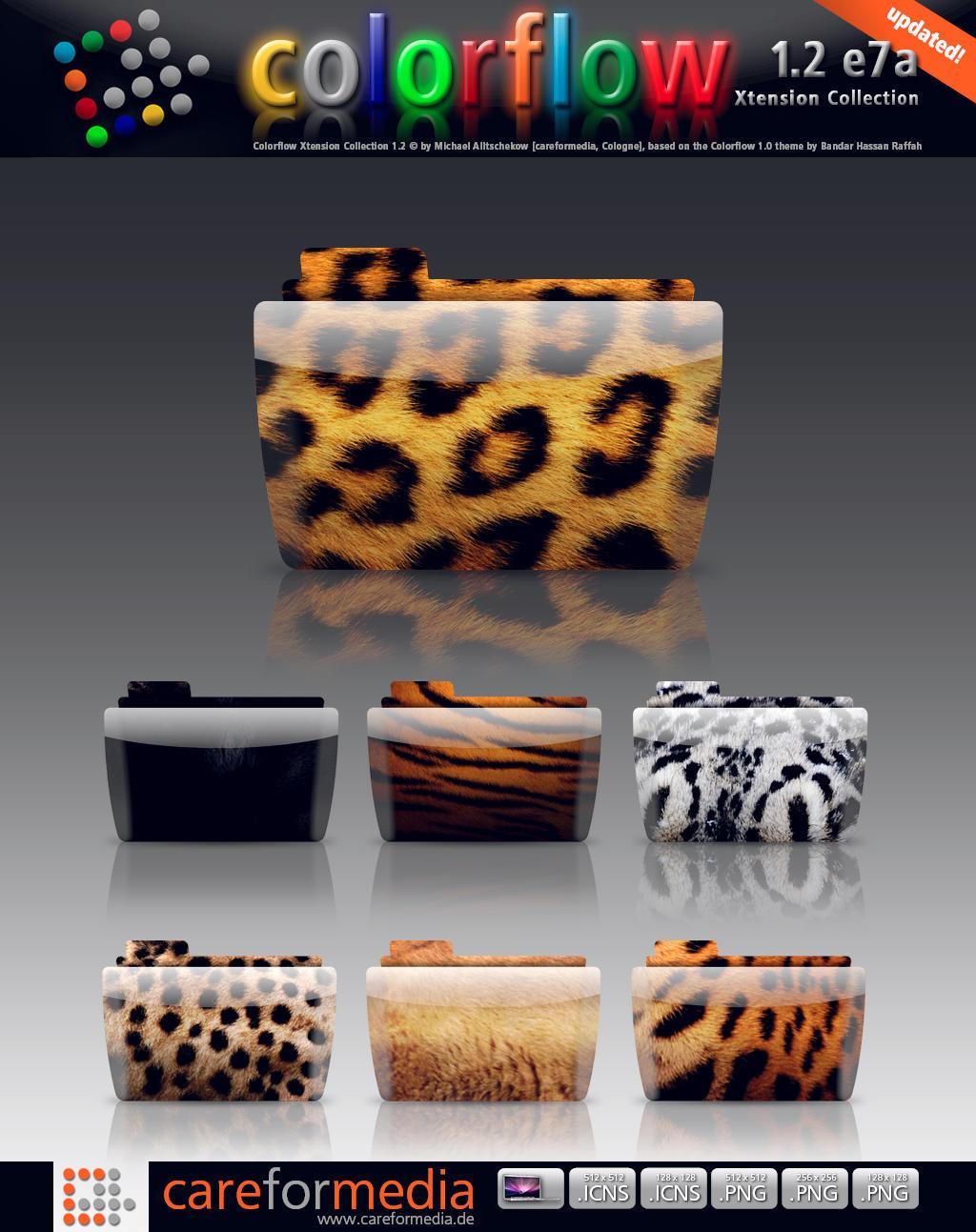 Colorflow 1.2 e7a Animals by subuddha