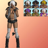 KOF XIV Angel (Diabla) - XNALara XPS by PharaohIllusion