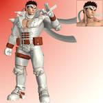 SFV Ryu (Jin) - XNALara XPS by PharaohIllusion