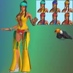 KOF XIV Zarina - XNALara XPS