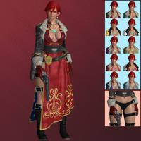 FEXL Sharon - XNALara XPS by PharaohIllusion