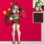 SFV Ibuki (30th Anniversary) - XNALara XPS
