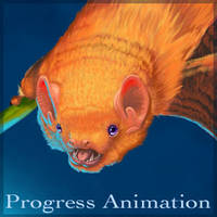 Red Bat Progress Animation by WingedSonar