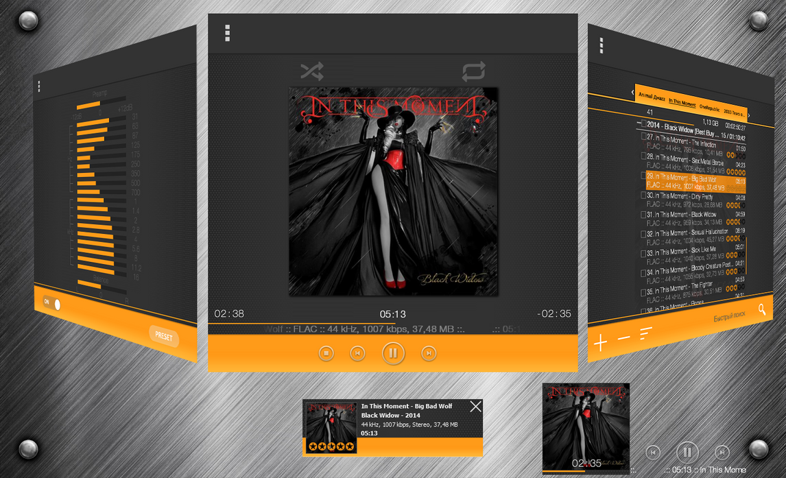 Aimp8 by Bloodsrv