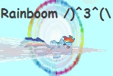 Rainboom Animation by urimas