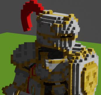 Knight Idle Animation