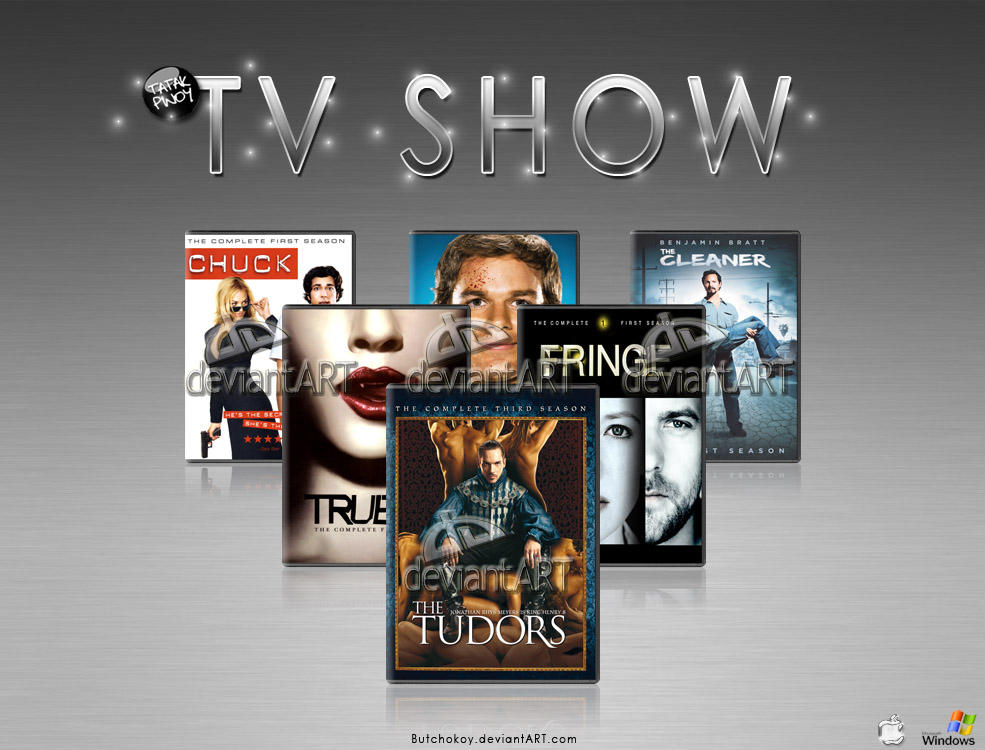 Tv show icon 1 by butchokoy on deviantart for Craft shows on tv