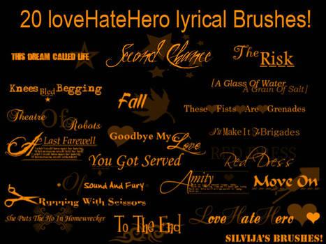 LoveHateHero Brushes
