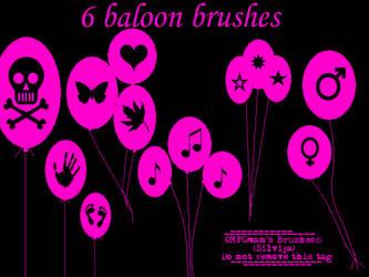Baloon brushes